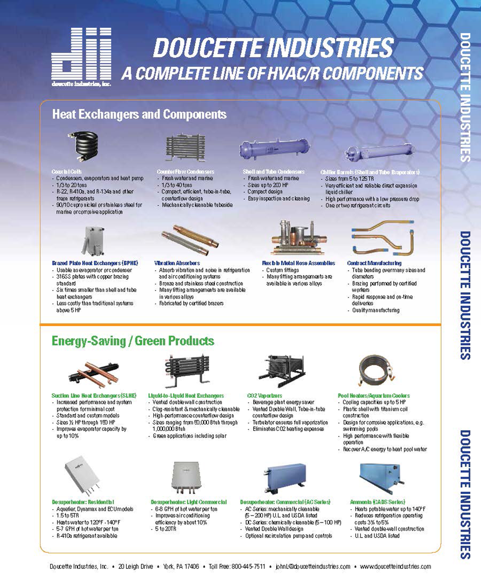 Manufacturer of Commerical and Residential Heat Exchange